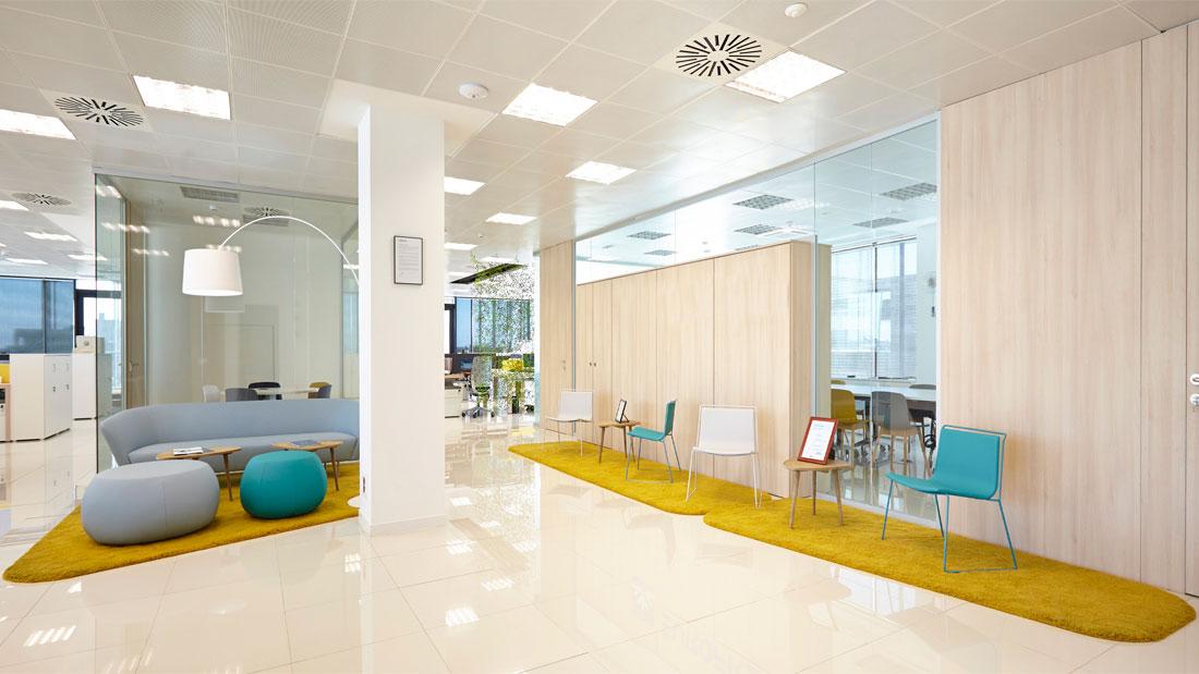 Areazero 2 0 oficinas eurofred madrid for Oficinas liberbank madrid