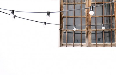 Detalle iluminación exterior