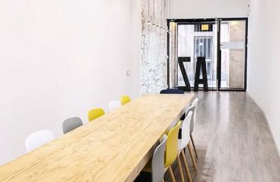 Mesa reunión madera