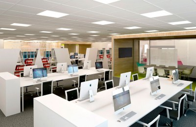 Open space mobiliario