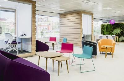 Diseño sala lila