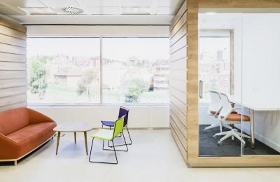 Diseño Sala naranja