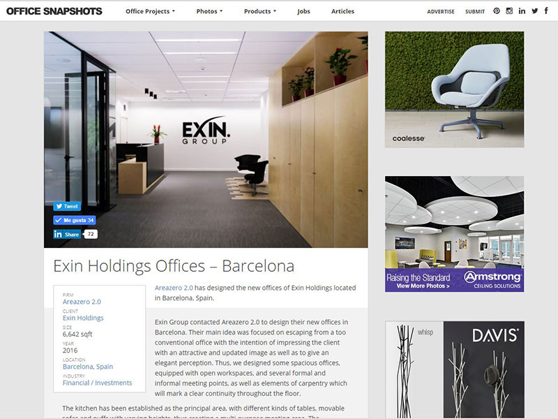 Oficinas Alta Diagonal Office Snapshots