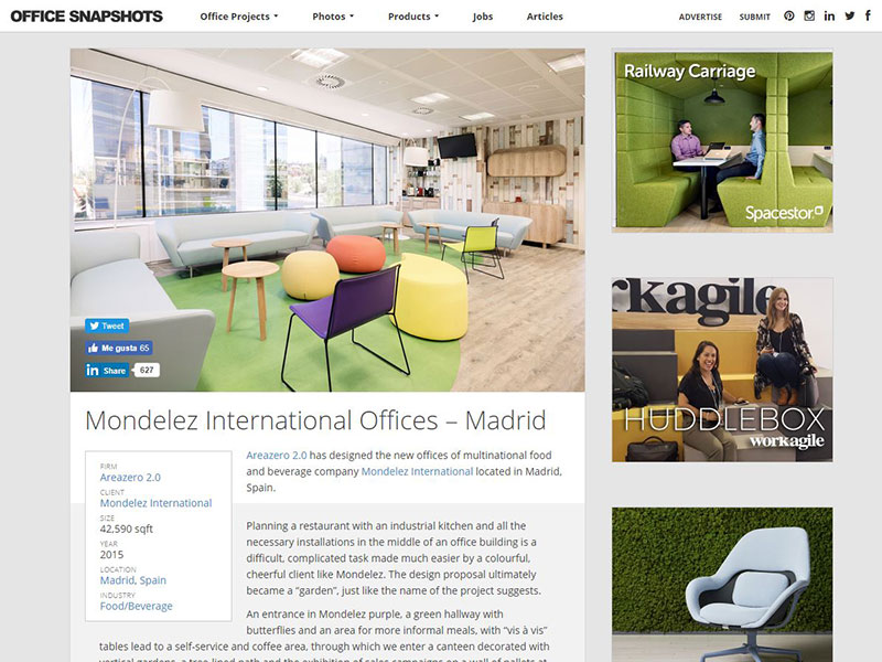 Oficinas Mondelez Office Snapshots