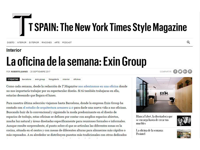 Oficinas Alta Diagonal The New York Times Style Magazine