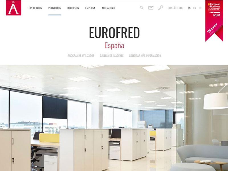 Oficinas Eurofred Actiu
