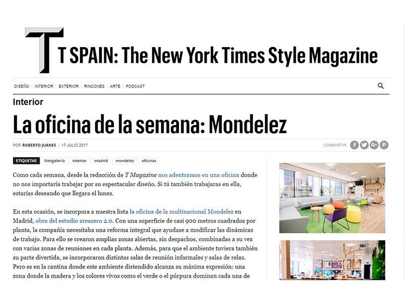 Oficinas Mondelez The New York Times Style Magazine